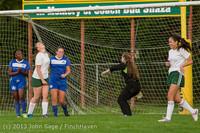 8701 Girls Soccer v Life-Chr 092313