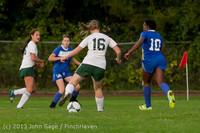 8704 Girls Soccer v Life-Chr 092313