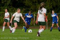 8709 Girls Soccer v Life-Chr 092313