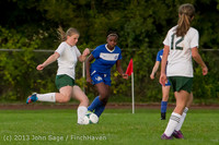 8710 Girls Soccer v Life-Chr 092313