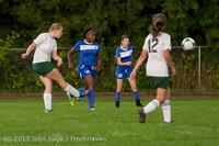 8712 Girls Soccer v Life-Chr 092313