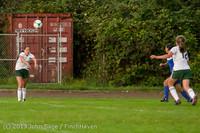 8736 Girls Soccer v Life-Chr 092313