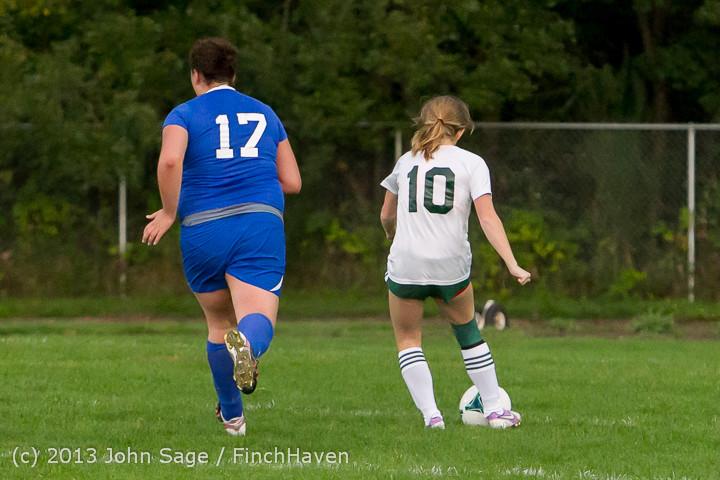 8766 Girls Soccer v Life-Chr 092313
