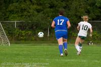 8768 Girls Soccer v Life-Chr 092313