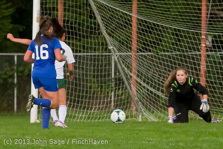 8774 Girls Soccer v Life-Chr 092313