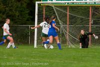 8776 Girls Soccer v Life-Chr 092313