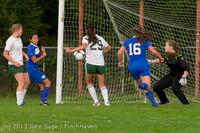 8777 Girls Soccer v Life-Chr 092313