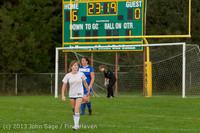 8810 Girls Soccer v Life-Chr 092313