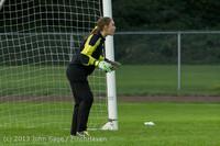 8813 Girls Soccer v Life-Chr 092313