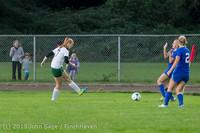 8843 Girls Soccer v Life-Chr 092313