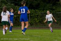 8894 Girls Soccer v Life-Chr 092313