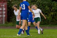 8904 Girls Soccer v Life-Chr 092313