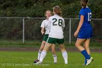 8922 Girls Soccer v Life-Chr 092313