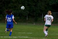 8933 Girls Soccer v Life-Chr 092313