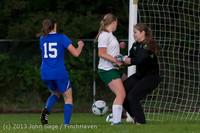 8941 Girls Soccer v Life-Chr 092313