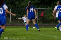 8959 Girls Soccer v Life-Chr 092313