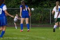8962 Girls Soccer v Life-Chr 092313