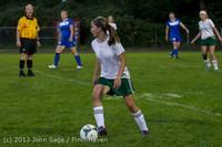 8993 Girls Soccer v Life-Chr 092313