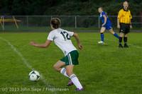 8996 Girls Soccer v Life-Chr 092313