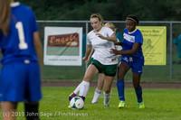 9010 Girls Soccer v Life-Chr 092313