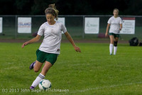 9021 Girls Soccer v Life-Chr 092313