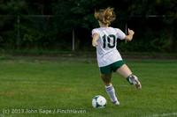 9029 Girls Soccer v Life-Chr 092313