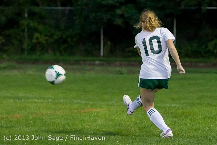 9032 Girls Soccer v Life-Chr 092313