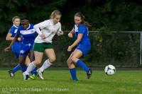 9041 Girls Soccer v Life-Chr 092313
