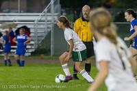 9069 Girls Soccer v Life-Chr 092313