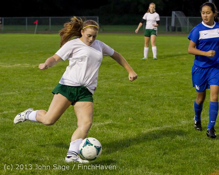 9078 Girls Soccer v Life-Chr 092313