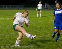 9080 Girls Soccer v Life-Chr 092313