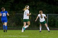 9099 Girls Soccer v Life-Chr 092313