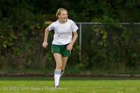 9104 Girls Soccer v Life-Chr 092313