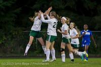 9112 Girls Soccer v Life-Chr 092313