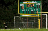 9120 Girls Soccer v Life-Chr 092313