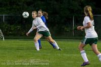 9128 Girls Soccer v Life-Chr 092313