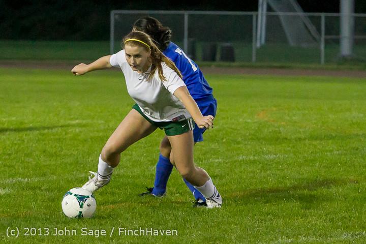 9133 Girls Soccer v Life-Chr 092313