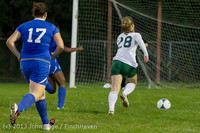 9148 Girls Soccer v Life-Chr 092313