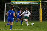 9152 Girls Soccer v Life-Chr 092313