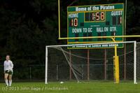 9159 Girls Soccer v Life-Chr 092313