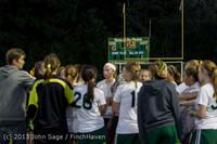 9169 Girls Soccer v Life-Chr 092313