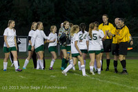 9194 Girls Soccer v Life-Chr 092313