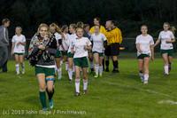 9210 Girls Soccer v Life-Chr 092313