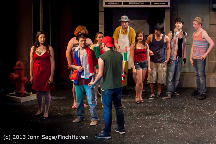 6700 In The Heights VHS Drama 2013 032413