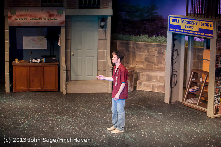 7023 In The Heights VHS Drama 2013 032413