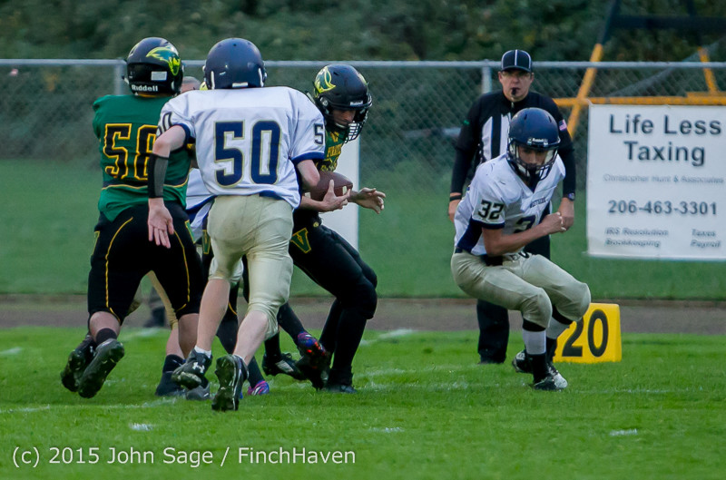 8603 JV Football v West-Seattle 110215