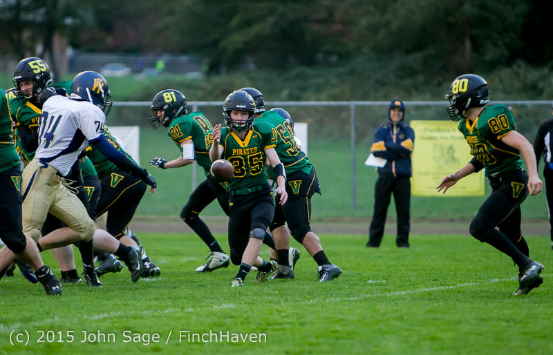 8657 JV Football v West-Seattle 110215