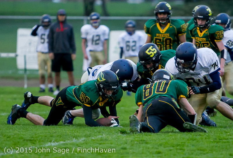 8674 JV Football v West-Seattle 110215