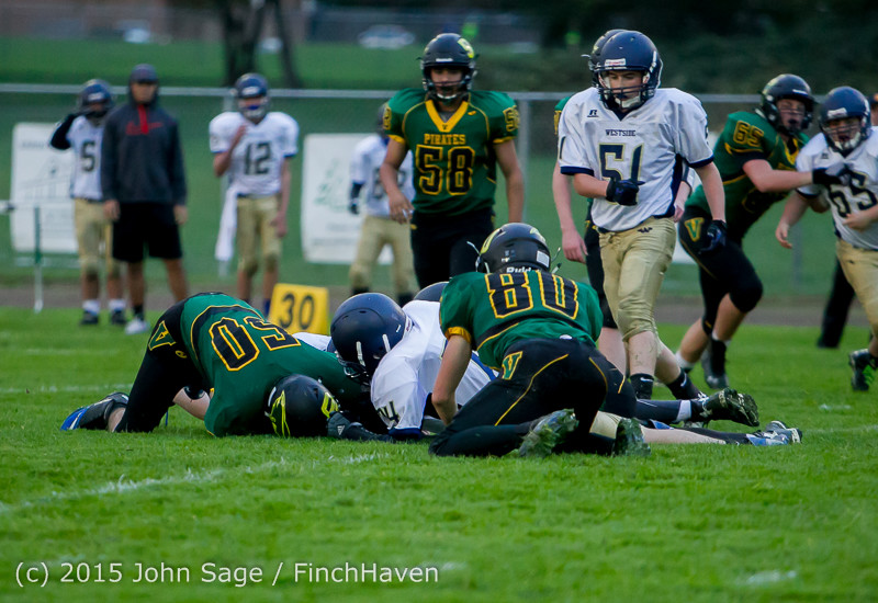 8679 JV Football v West-Seattle 110215