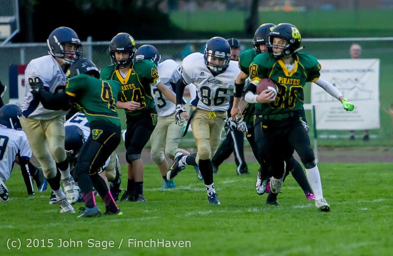 8752 JV Football v West-Seattle 110215